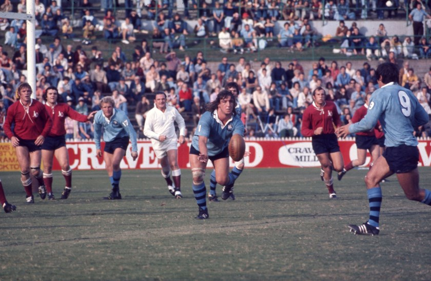 John Donnelly playing for NSW against Queensland.