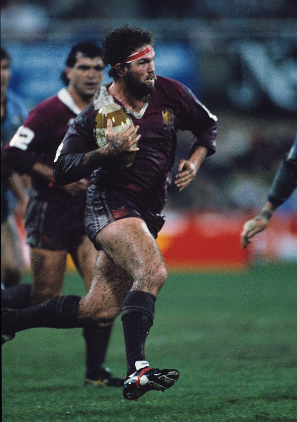 Greg Dowling always gave his all for Queensland.