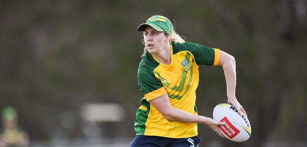 Brown tickled pink to teach greenhorns the Jillaroos way