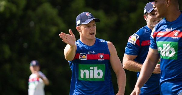 Jayden Brailey Newcastle Knights move: Hooker soaks up first career switch with coffee - NRL.COM