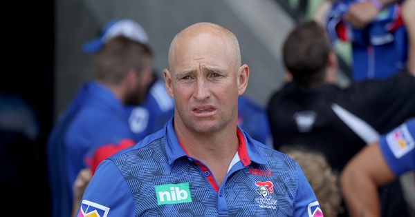 The reason behind Nathan Brown's exit from the Newcastle Knights - NRL.COM image