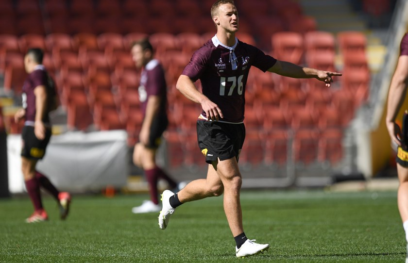 Daly Cherry-Evans is in line for the Maroons' captaincy.