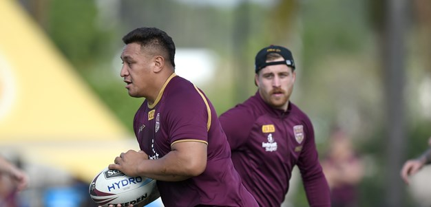 Papalii ready to lead Queensland's forwards