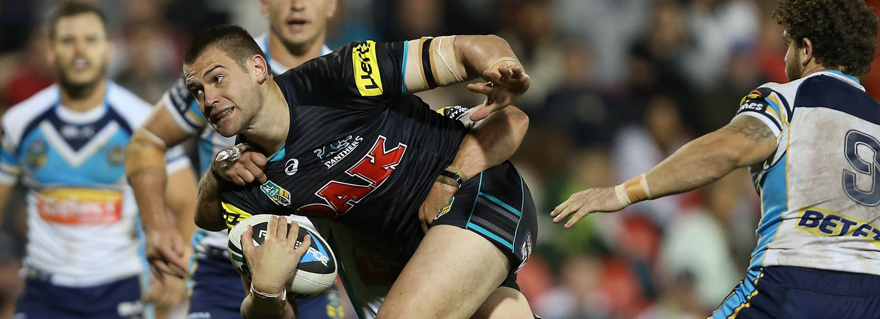 Panthers prop Tim Grant.