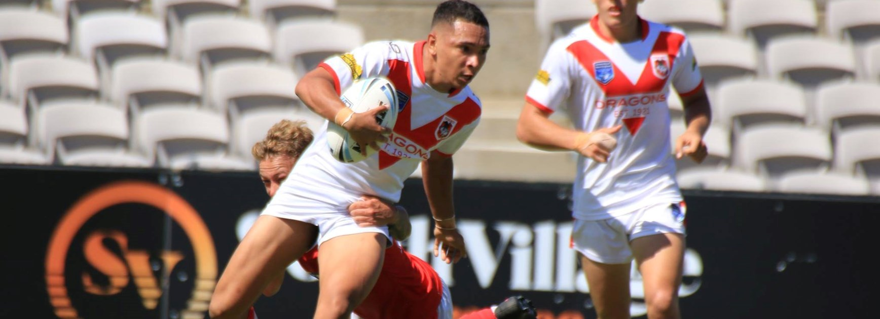 Son of a gun: CJ Mundine signs with Souths
