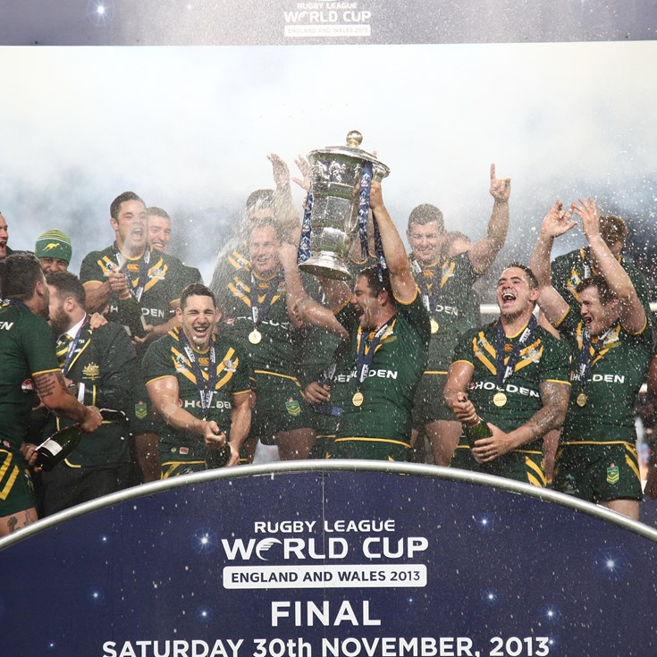 November 30: Kangaroos win World Cup; Roberts retires