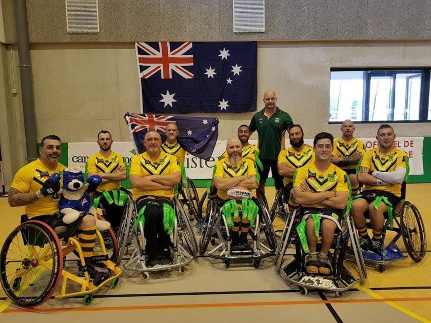 The Australian Wheelaroos.