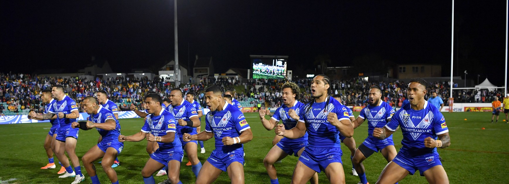 Samoan side stacked with NRL talent and flair
