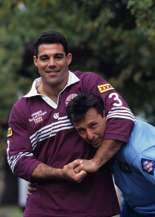 Mal Meninga and Laurie Daley.