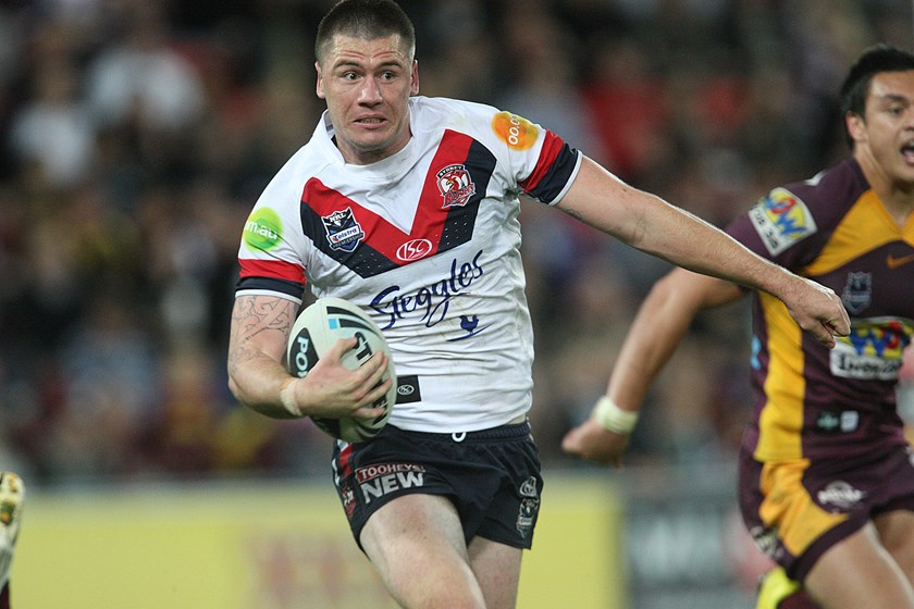 Shaun Kenny-Dowall in his playing days with the Roosters.