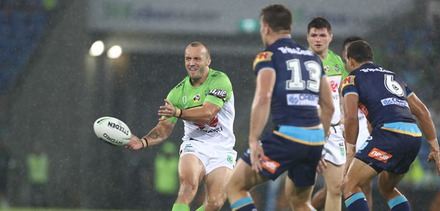 Titans succumb to Green Machine in the wet
