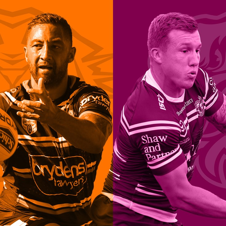 Wests Tigers v Sea Eagles: Mbye out; Elliot in for Turbo