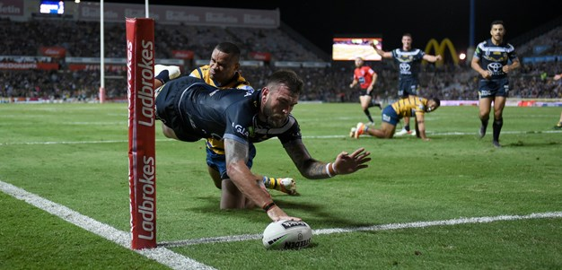 Cowboys leave it late to see off Eels