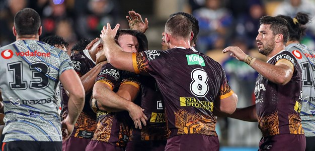 Broncos Tackle Their Way To Victory Over Warriors