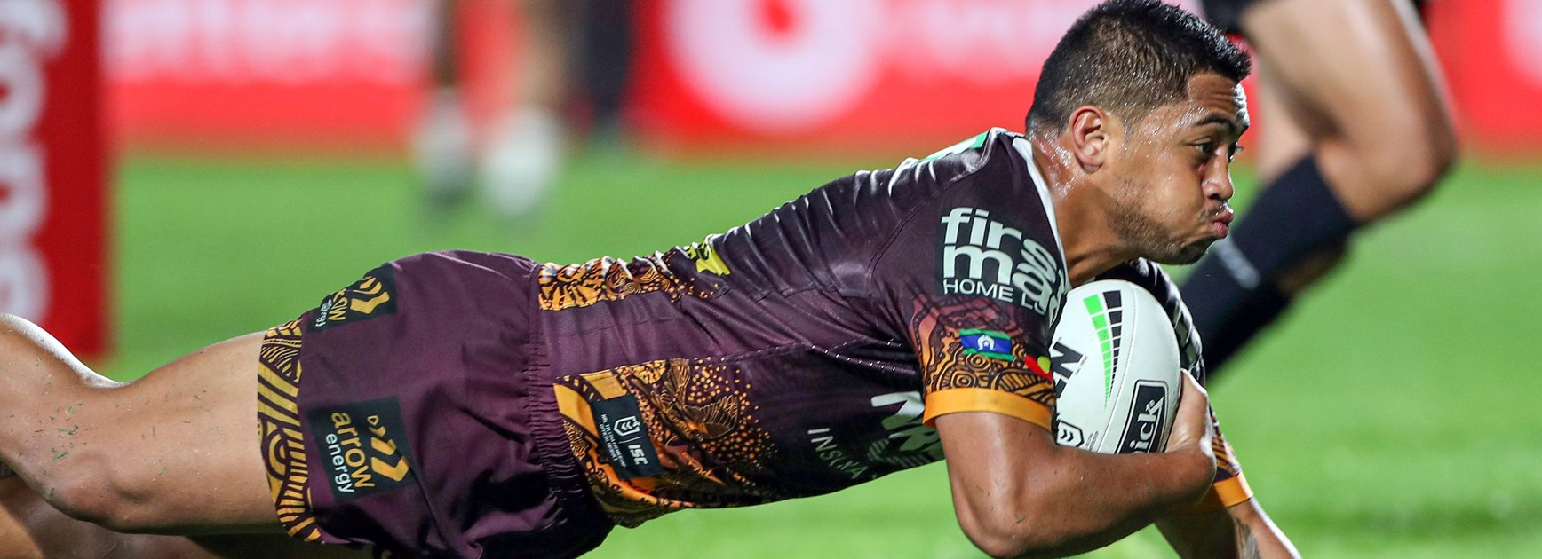 Broncos five-eighth Anthony Milford.