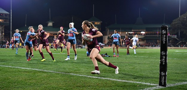 Telstra Tracker to be introduced to women's Origin clash