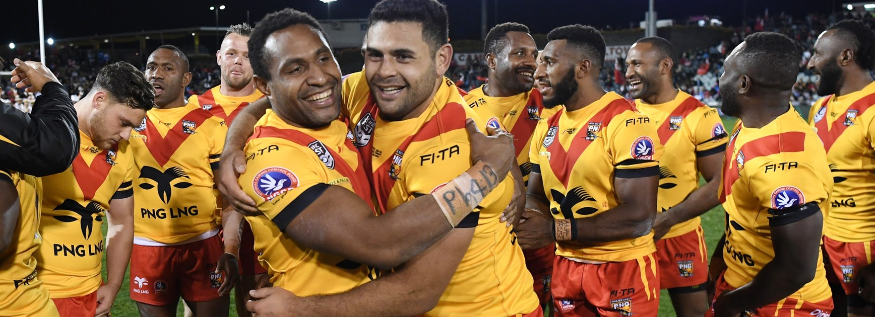 Justin Olam and Rhyse Martin are key men for PNG.