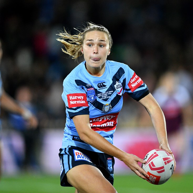 Emerging rookies rewarded with Jillaroos merit team recognition