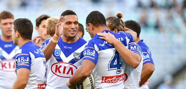 Bulldogs overcome Foran injury to hold on against Sharks