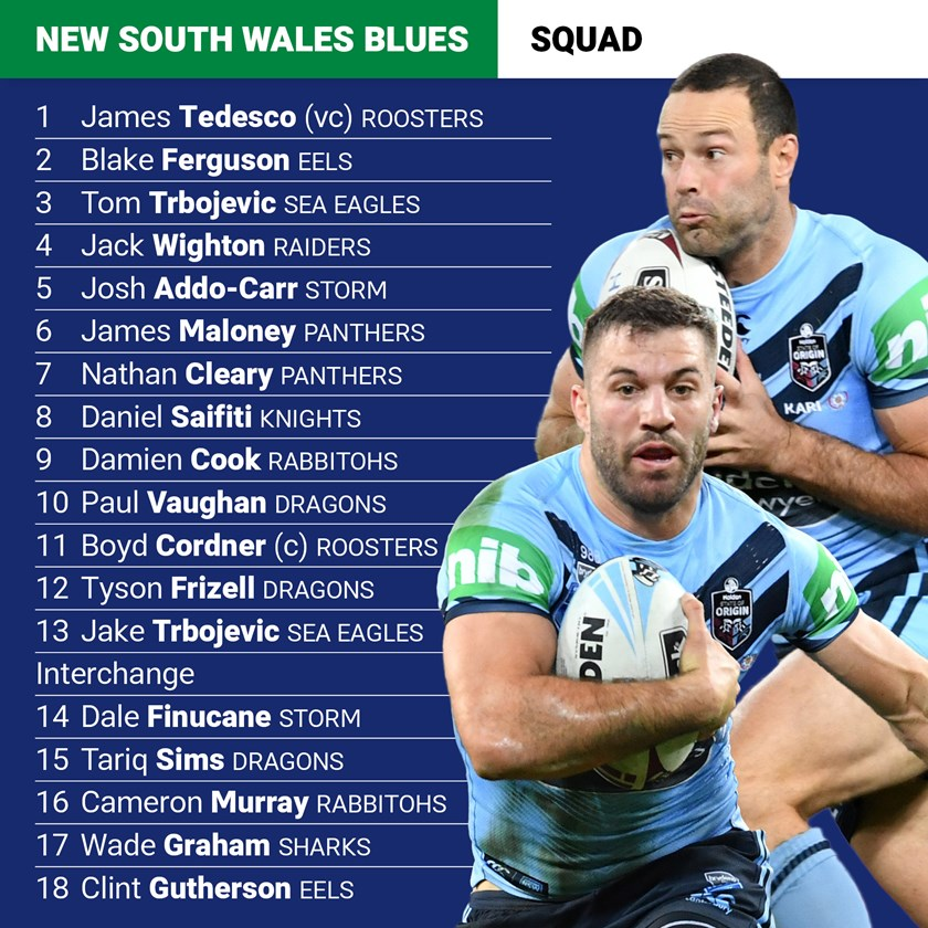 NSW Blues State of Origin 3 team: Klemmer overlooked as ...