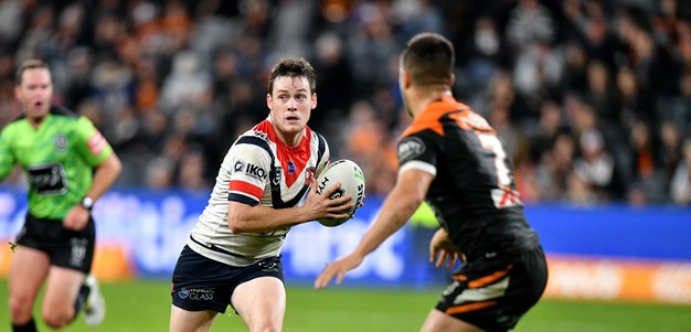 Keary stars in return as Roosters overpower Tigers