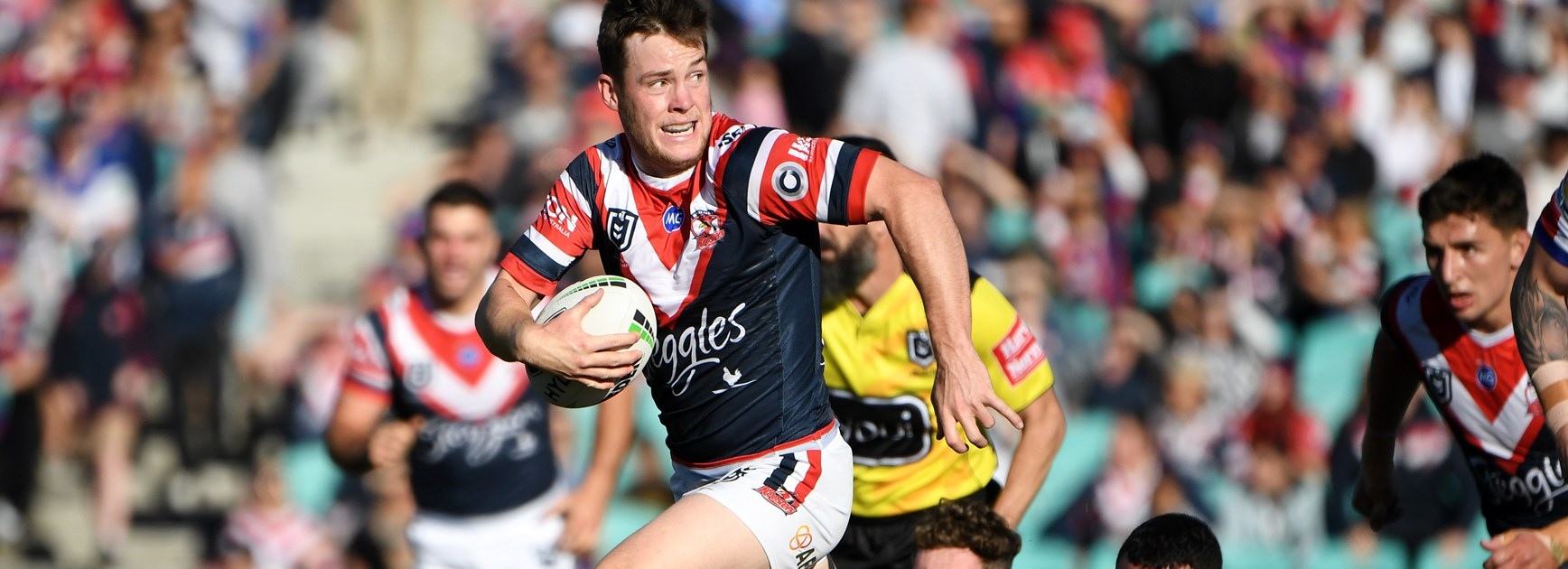 Roosters five-eighth Luke Keary.