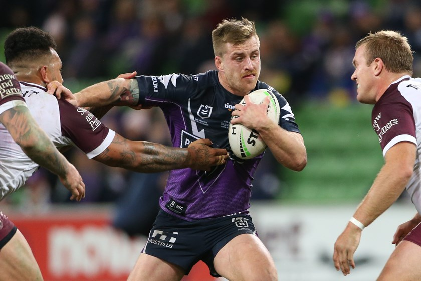 Storm five-eighth Cameron Munster.