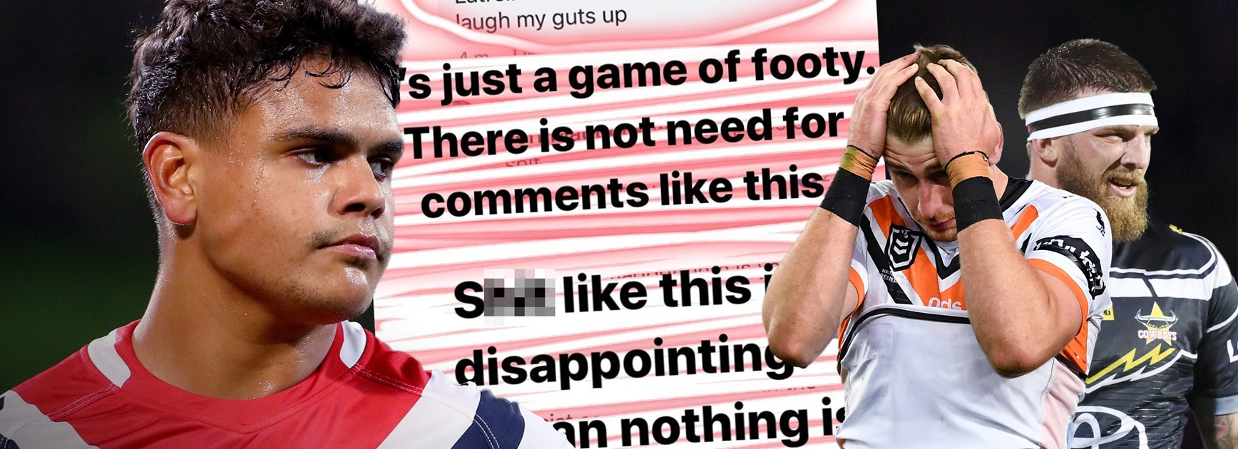 NRL launches investigation into racial abuse of Latrell Mitchell