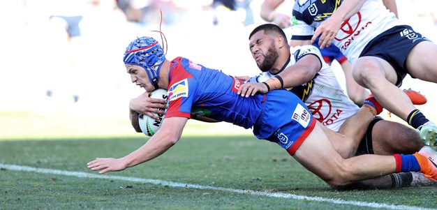 Cowboys go down to Knights in Newcastle