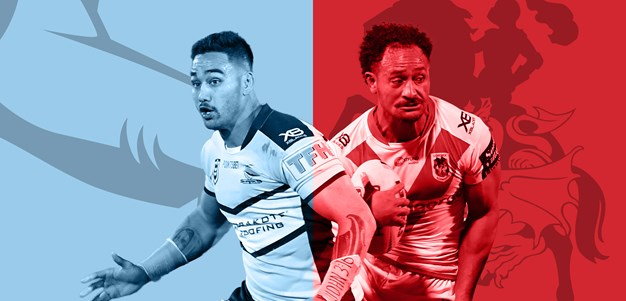 Sharks v Dragons: Round 22 preview