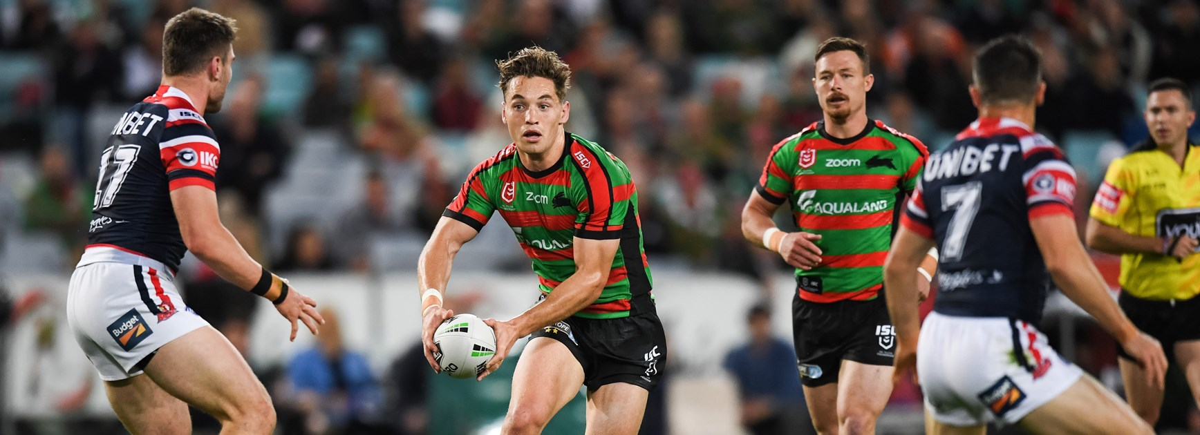 Rabbitohs lock Cameron Murray.