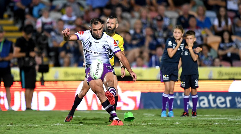 Storm captain Cameron Smith breaks the all-time scoring record in 2019.