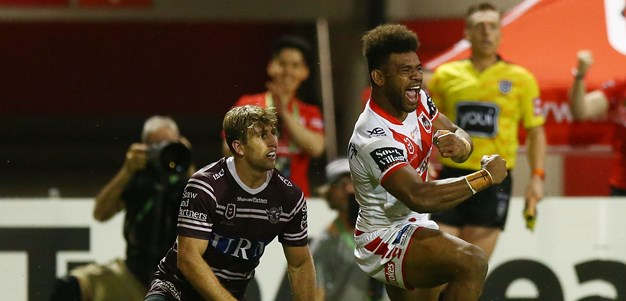Ravalawa strikes late as Dragons sink Sea Eagles in a thriller