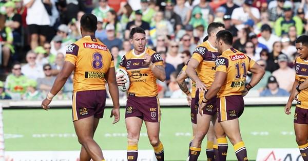 Brisbane coach Anthony Siebold asks fans to trust the process - NRL.COM image
