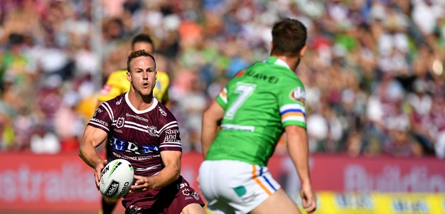 DCE taken off injured in Manly win over Raiders