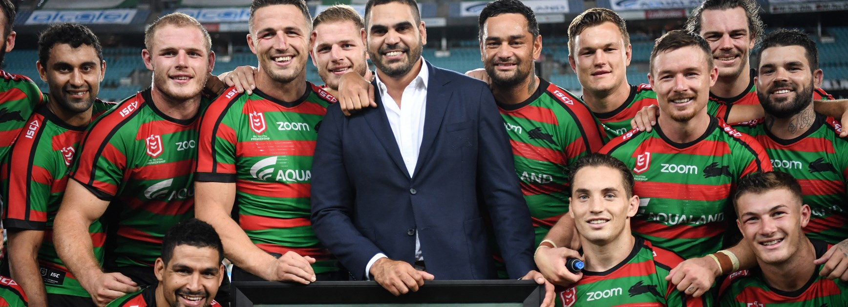 The Rabbitohs farewell Greg Inglis.
