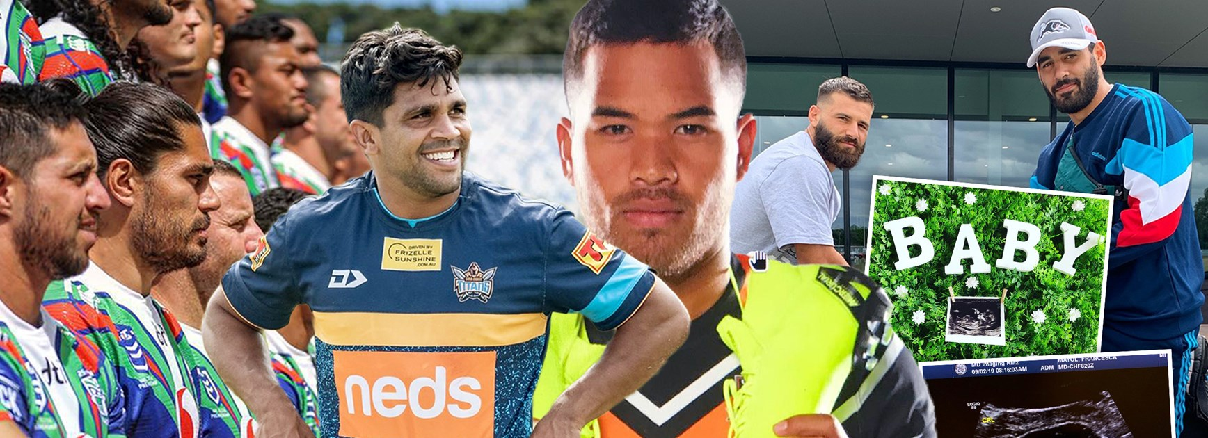 NRL Social: Jokers, baby boom, flashy new 'kicks'