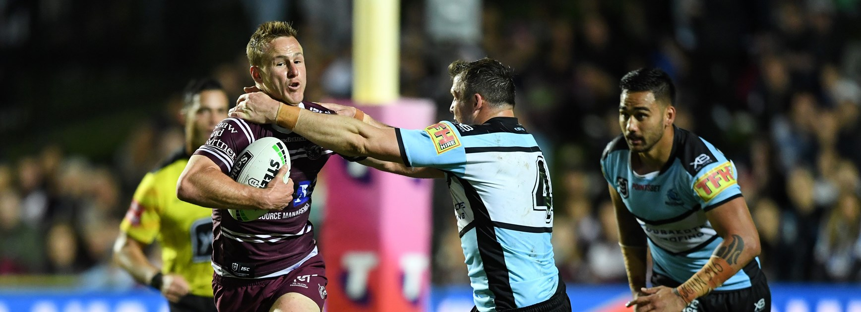 Manly halfback Daly Cherry-Evans.