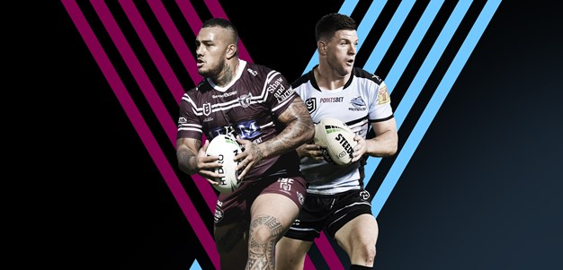 Sea Eagles v Sharks: Hasler leaves out T-Rex; Gray in for Ronaldo
