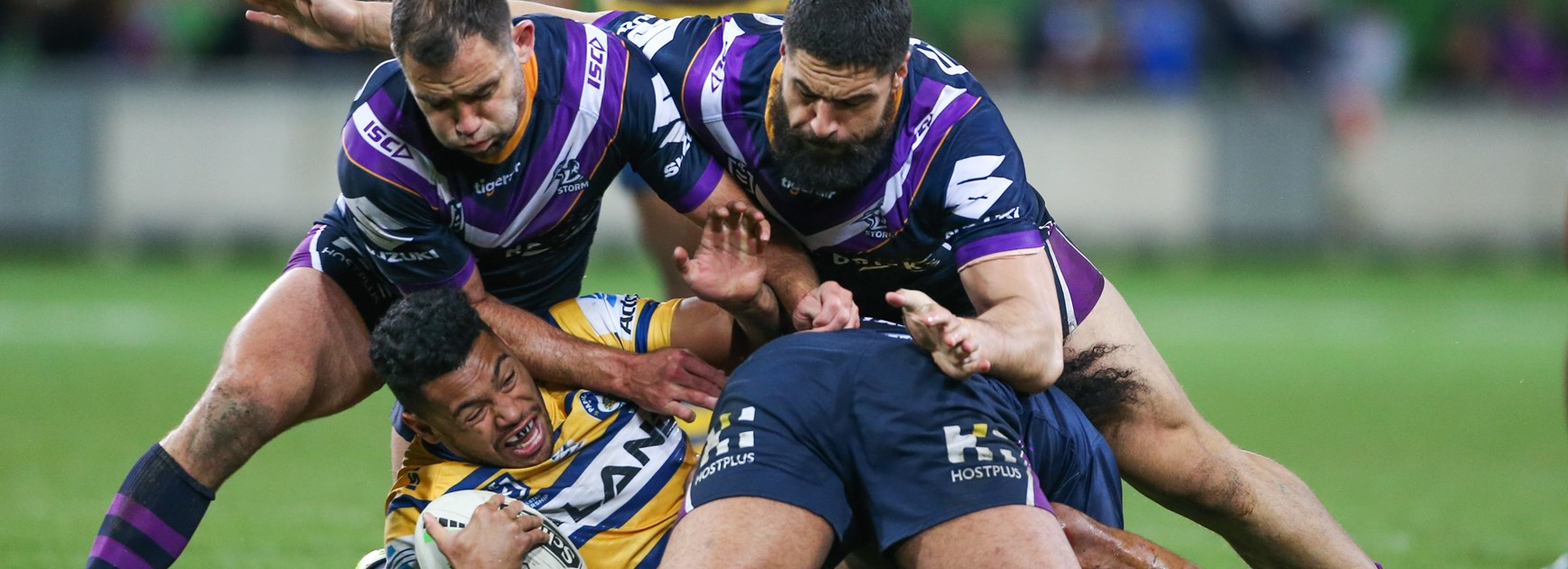 The Storm shut down the Eels in the semi-final.