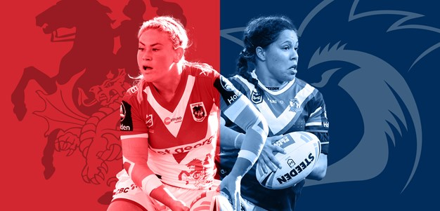 NRLW Dragons v Roosters: Centres clash sizzles; Pressure on Sims and co