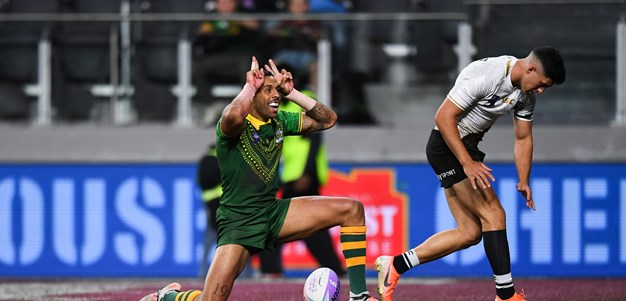 World Cup 9s Day 1: Kangaroos and Lions fire, Cook Islands spring upset