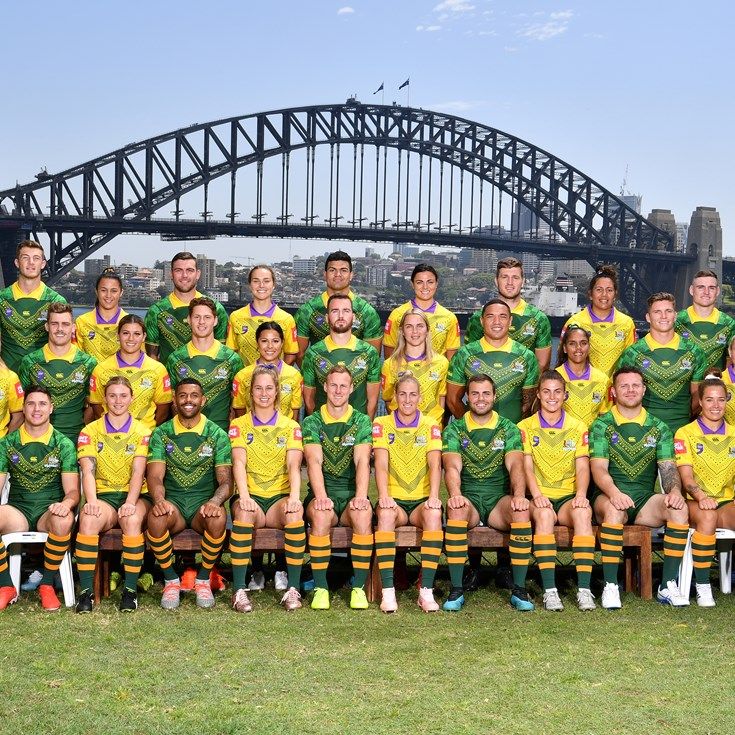 2019 World Cup Nines squads and player numbers