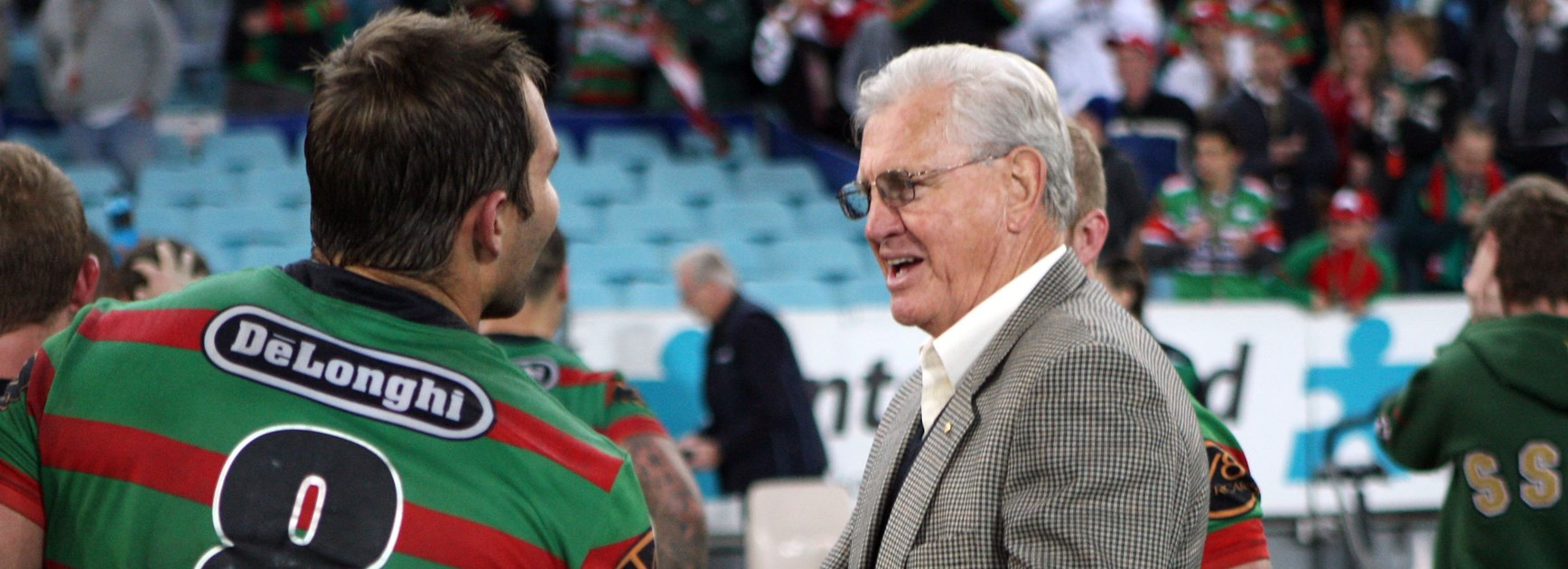 Rabbitohs and Roosters great Ron Coote.