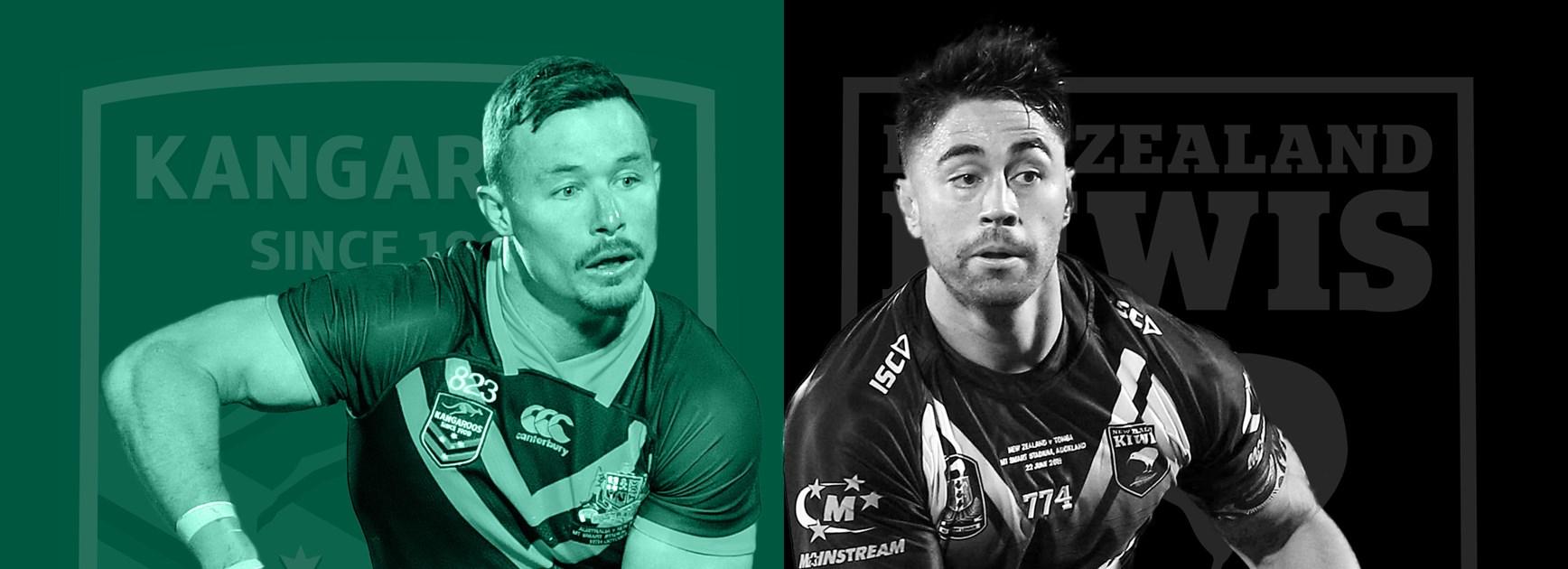 Kangaroos v Kiwis: Trans-Tasman rivalry reignites