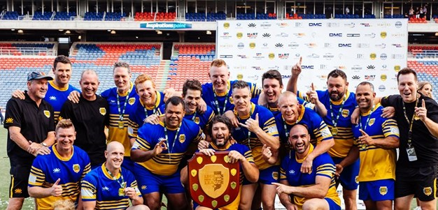 Hindy finally gets a title: Eels win Legends of League