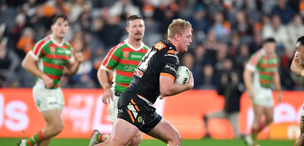 Oliver Clark could be Wests Tigers' lucky charm