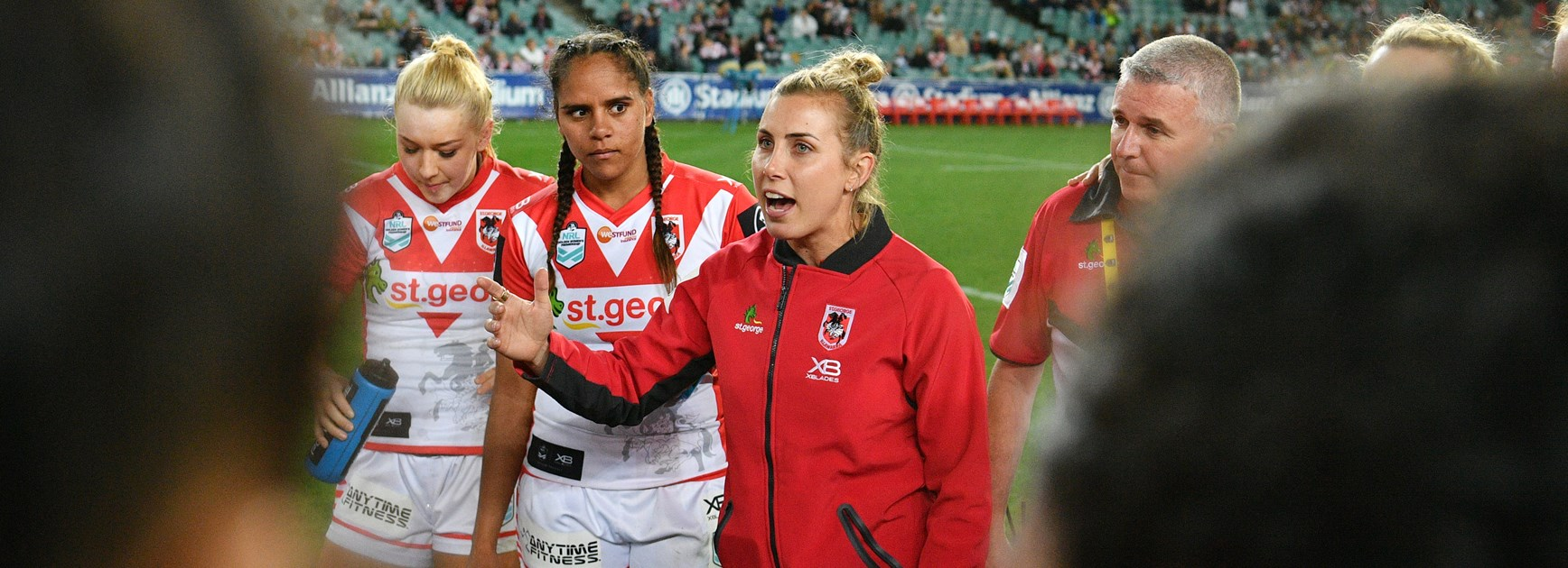 Sam Bremner was sidelined by a toe injury during the inaugural NRLW season but still inspired her Dragons teammates.