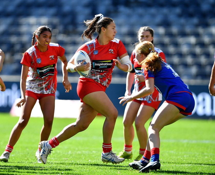 St George Illawarra youngster Maddison Weatherall.