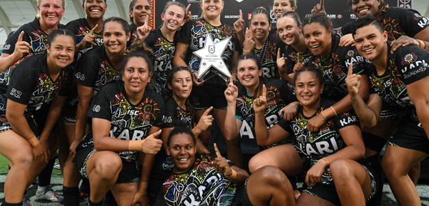 Davis-Welsh, Harden lead Indigenous Women's All Stars to glory